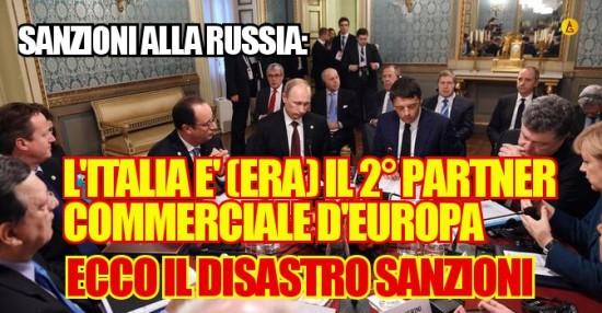 """Le assurde sanzioni alla Russia nell'era della """"crisi"""""""