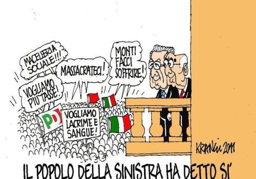 """Gli italiani sono così innamorati della """"democrazia""""?"""