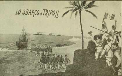 """Uno """"sbarco a Tripoli"""" nel 2015?"""