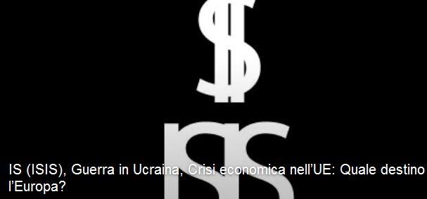 IS (ISIS), guerra in Ucraina, crisi economica nell'UE: quale destino per l'Europa? (Cesena, 19 mar. 2015)