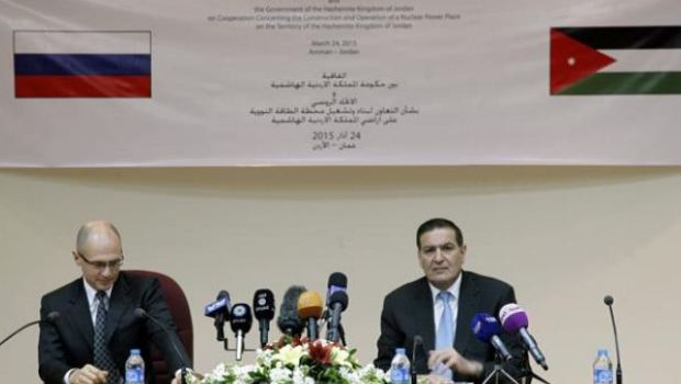 Jordan, Russia sign agreement on nuclear plant construction