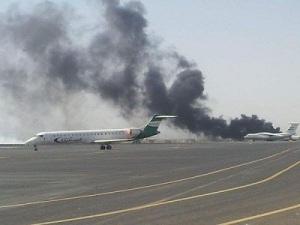 Sanaa_aeroport_bombardement