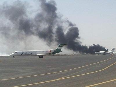Ryad détruit l'aéroport de Sanaa pour empêcher l'atterissage d'un avion iranien