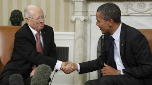 Barack Obama, Beji Caid Essebsi