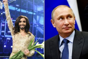 Conchita-Wurst-and-Vladimir-Putin