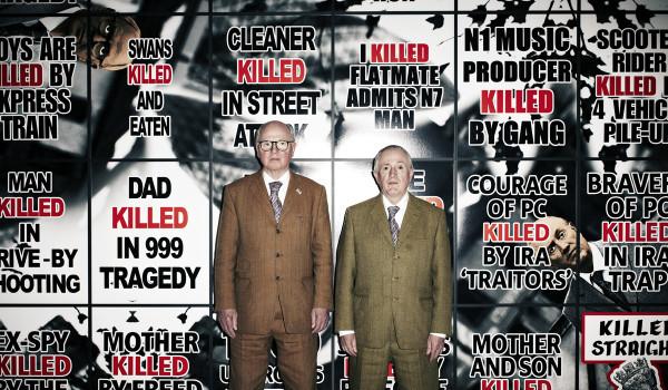 Storia del degrado dell'arte: Gilbert&George – G&G/666