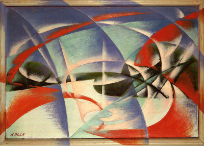 Giacomo Balla, astrattista futurista (Mamiano di Traversetolo, PR, 12 set.-8 dic. 2015)