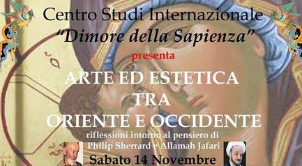 Arte ed estetica tra Oriente ed Occidente (Roma, 14 nov. 2015)