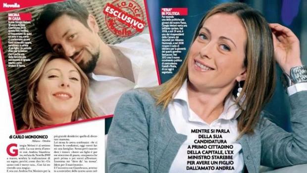 """Giorgia Meloni: """"Nessun uomo può dire ad una donna cosa deve fare o non fare"""""""