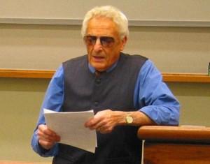 Il prof. Anthony James Gregor