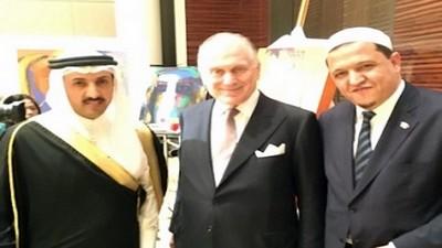 Le Président du Congrès Juif Mondial et Hassan Chalghoumi reçus par le Roi du Bahreïn