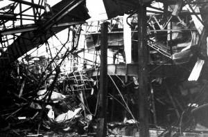 Distruzione, da parte della Nato, della fabbrica di automobili Zastava