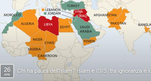 Chi ha paura dell'Islam? Islam e ISIS, tra ignoranza e luoghi comuni (Modena, 26 apr. 2016)