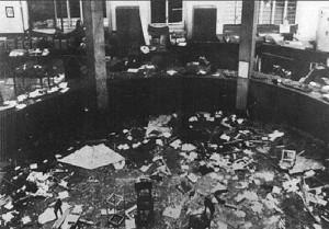 Strage di Piazza Fontana, 12 dic. 1969. Le domande sono sempre le stesse, ieri come oggi: da dove esce tutto questo esplosivo? cui prodest?