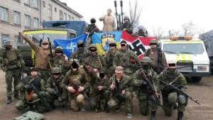 """Questi col bollino blu della Nato sono """"nazisti buoni"""""""
