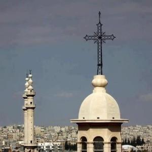campanili e moschee a Damasco