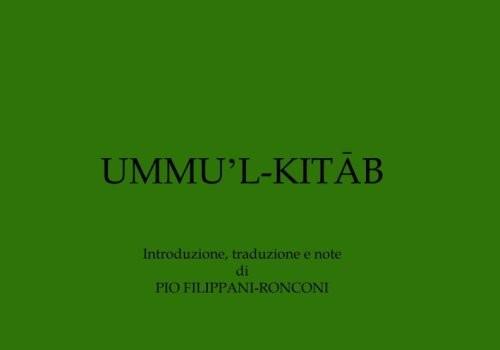 Ummu 'l-Kitāb (Roma, 22 nov. 2016)