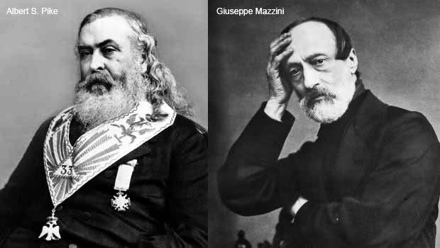 """La corrispondenza Pike-Mazzini: un falso costruito ad arte o """"preveggenza""""?"""