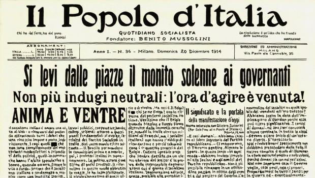 Mussolini un agente inglese? I finanziamenti britannici a Mussolini