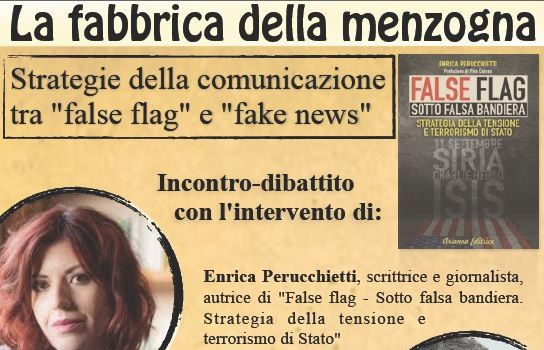 La fabbrica della menzogna (Bologna, 18 feb. 2017)