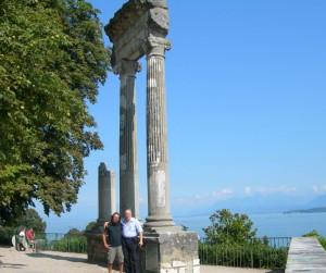 Con Alberto a Ginevra (agosto 2008)