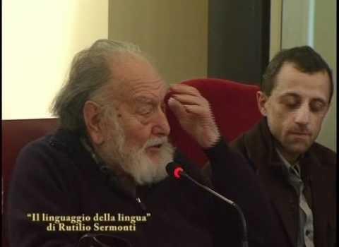 Rutilio Sermonti, Il linguaggio della lingua, Ed. all'insegna del Veltro, Parma 2008: Prefazione di Claudio Mutti