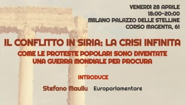 Il conflitto in Siria: la crisi infinita (Milano, 28 apr. 2017)