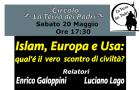 Islam, Europa e Usa: qual è il vero scontro di civiltà? (Modena, 20 mag. 2017)