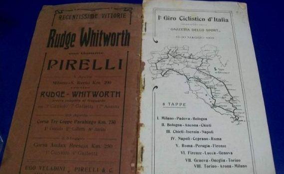 Cent'anni fa, un Galoppini al Giro d'Italia