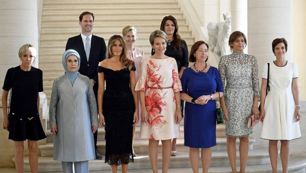 "Le ""first ladies"" della Nato…"