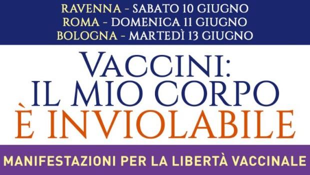 Vaccini. Il mio corpo è inviolabile (Bologna, 13 giu. 2017)