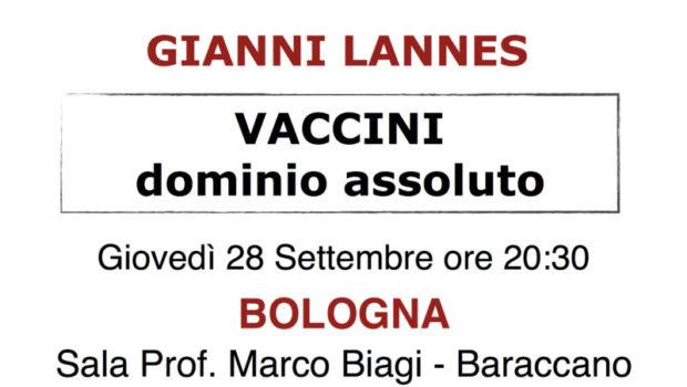 Vaccini. Dominio assoluto (Bologna, 28 set. 2017)