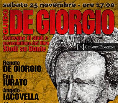 Convegno su Guido de Giorgio (Roma, 25 nov. 2017)