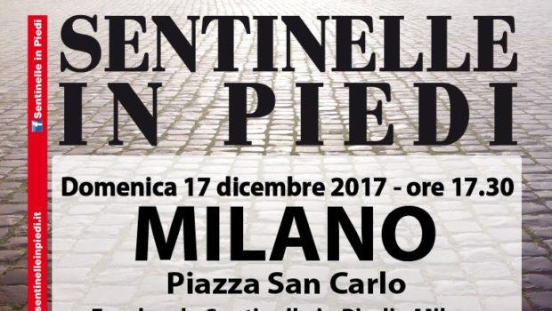 Sentinelle in piedi (Milano, 17 dic. 2018)