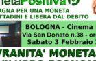 Sovranità monetaria e sviluppo economico (Bologna, 3 feb. 2018)