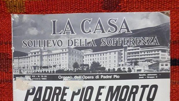 23 Settembre 1968: a cinquant'anni dalla scomparsa di Padre Pio